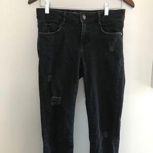 ZARA Skinny Ripped Jeans